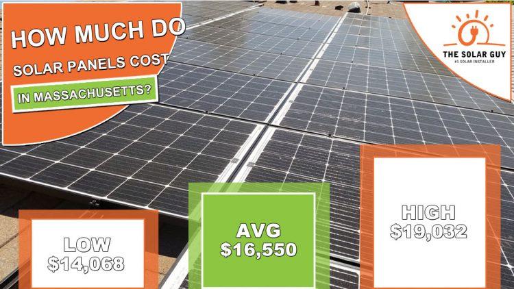 Solar Panels Cost Massachusetts